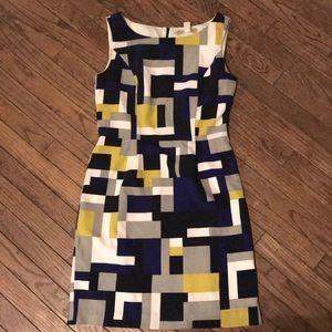 Banana Republic geometric sheet dress